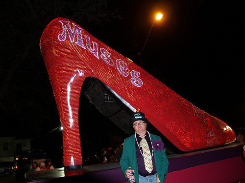 Krewe Of Muses. Krewe of Muses signature shoe